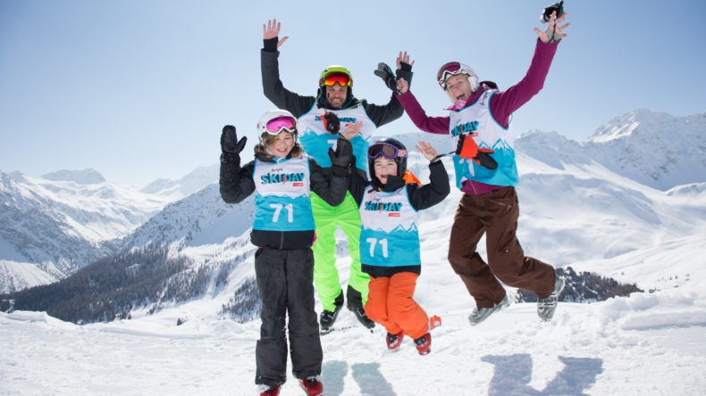 Famigros Ski Day Keyvisual 2019