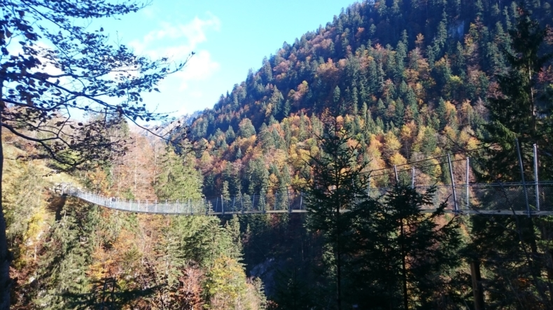 Hängebrücke Leiternweide Oberwil