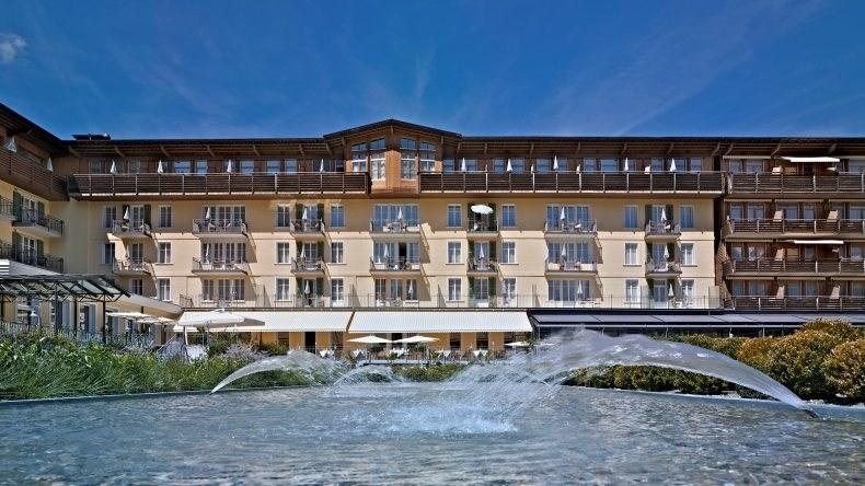 Lenkerhof gourmet spa resort Aussenansicht