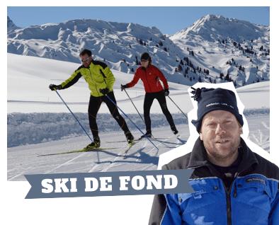 Bons plans du Pisteur Jürg : ski de fond
