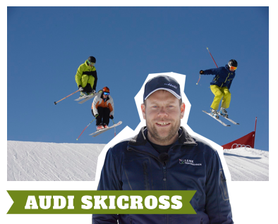 Pisten-Jürg Extratipp Audi Skicross Gold Park