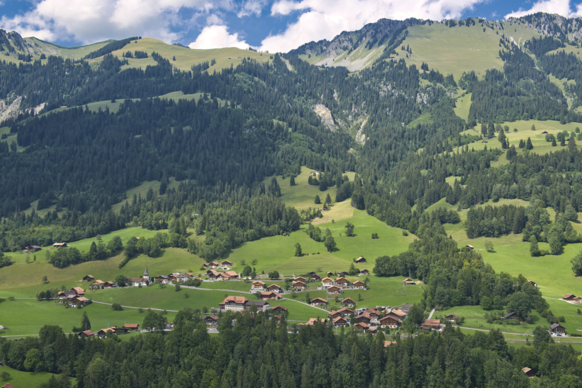 The little paradise in the middle of the Simmental