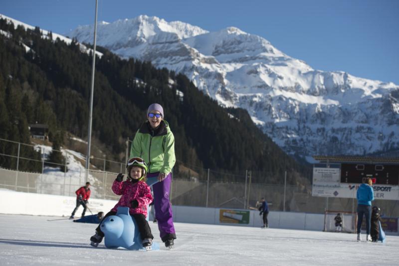 Eislaufen TEC Lenk
