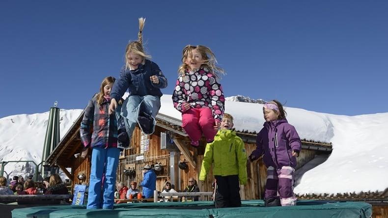 Kinder Trampolin Lenk Haslerbar