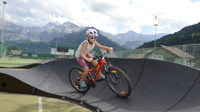 Pumptrack Lenk TEC-Areal