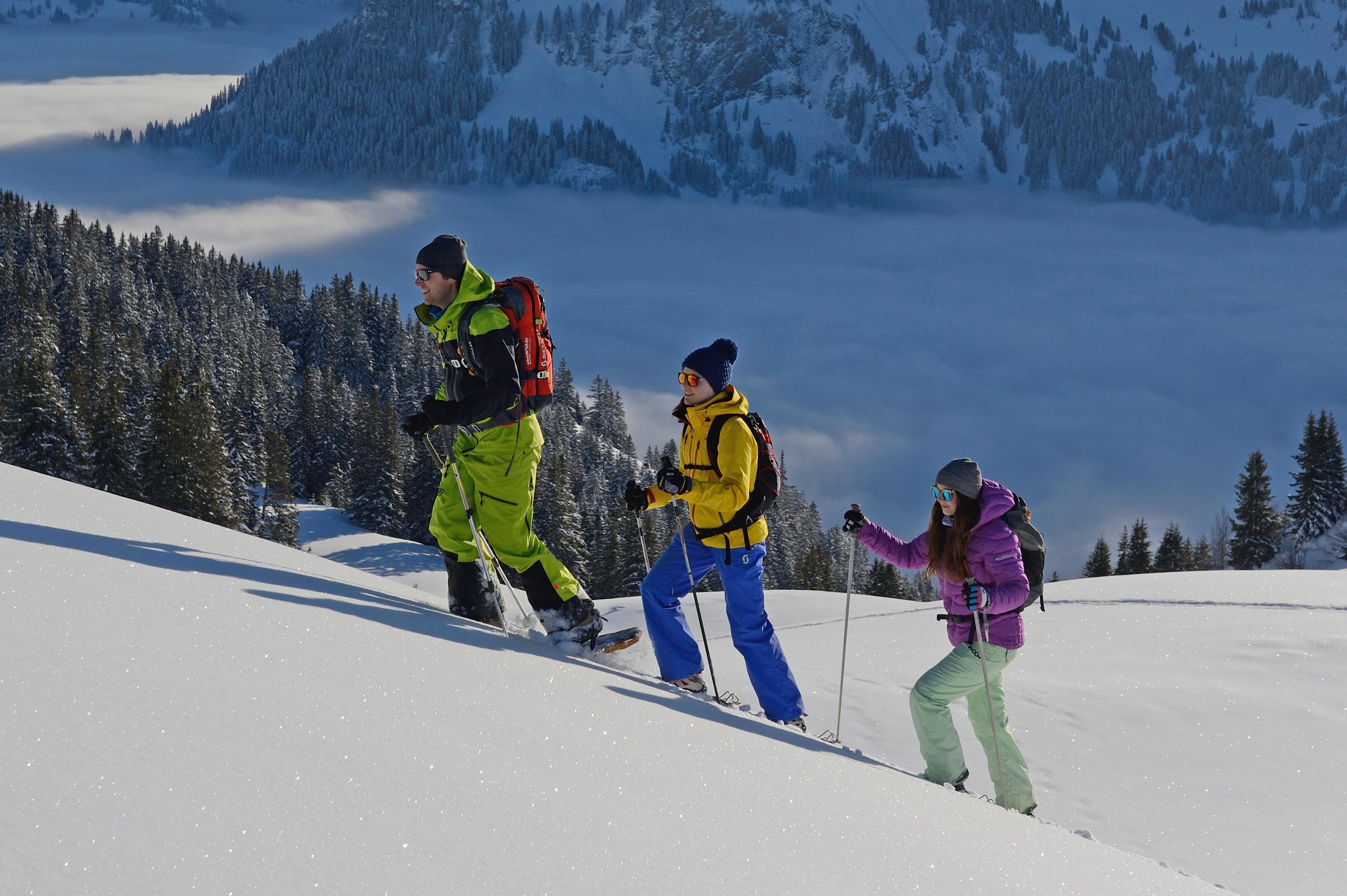 Schneeschuhwandern Wildstrubel