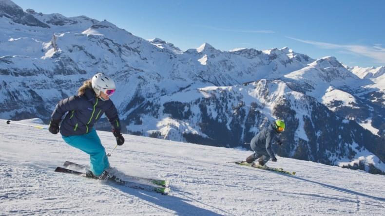 Lenk-Simmental Skifahren Metsch