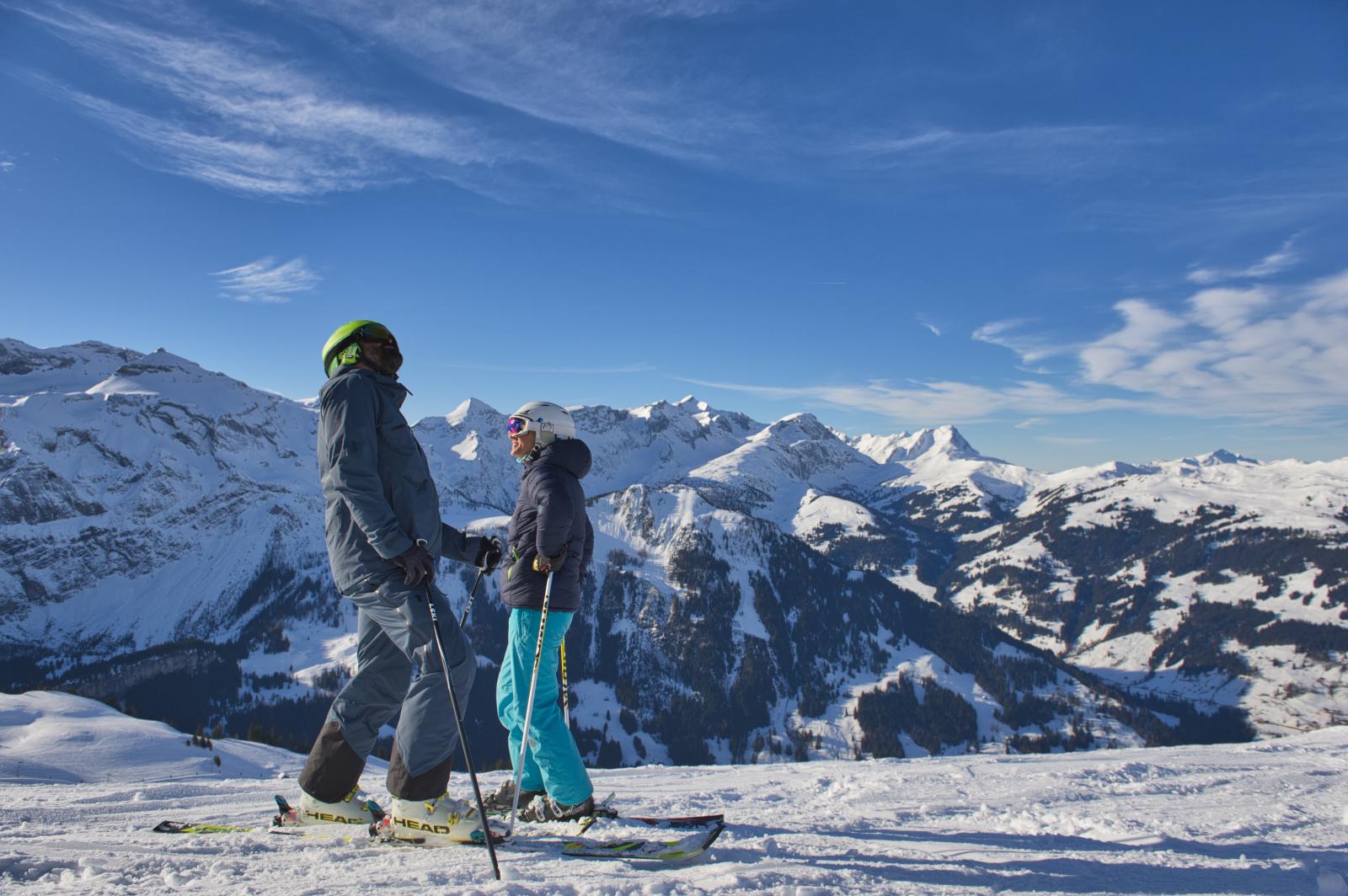 Skifahren Metsch