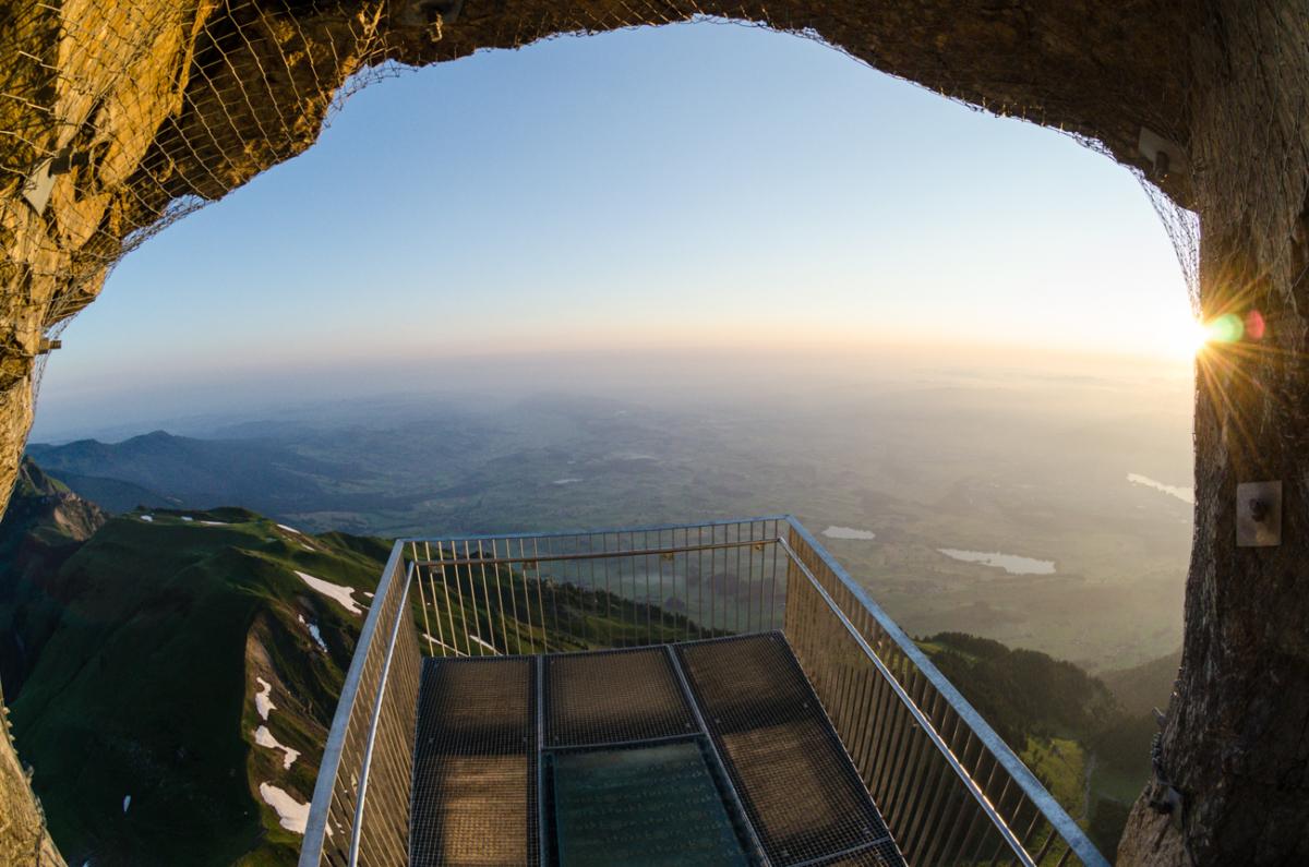 Panoramaplattform Stockhorn – der Weitblick