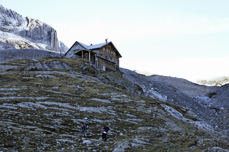 Mountain hut Wildhorn SAC