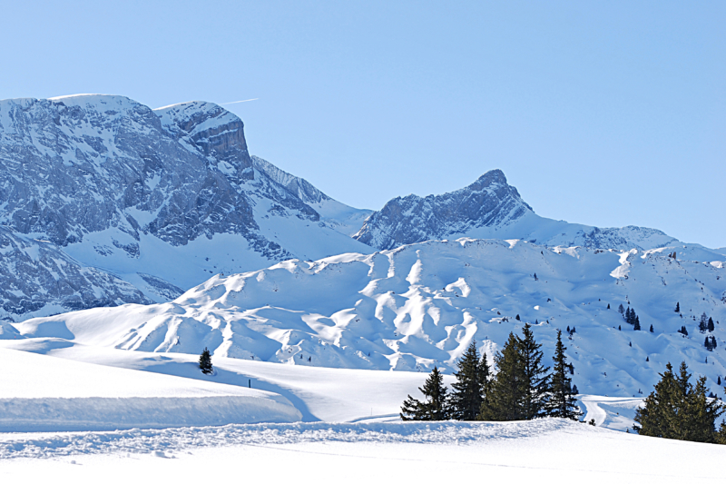 Winterwanderweg Niesenhorn Leiterli