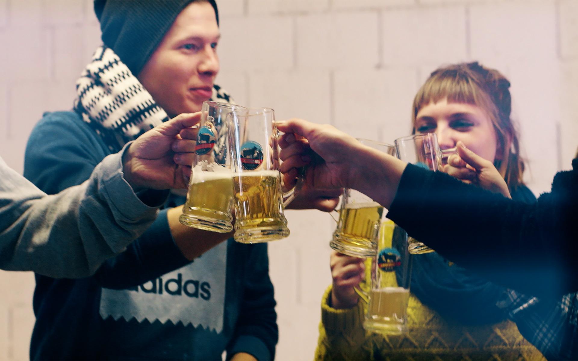Visite chez la brasserie de bière Simmentaler Bier