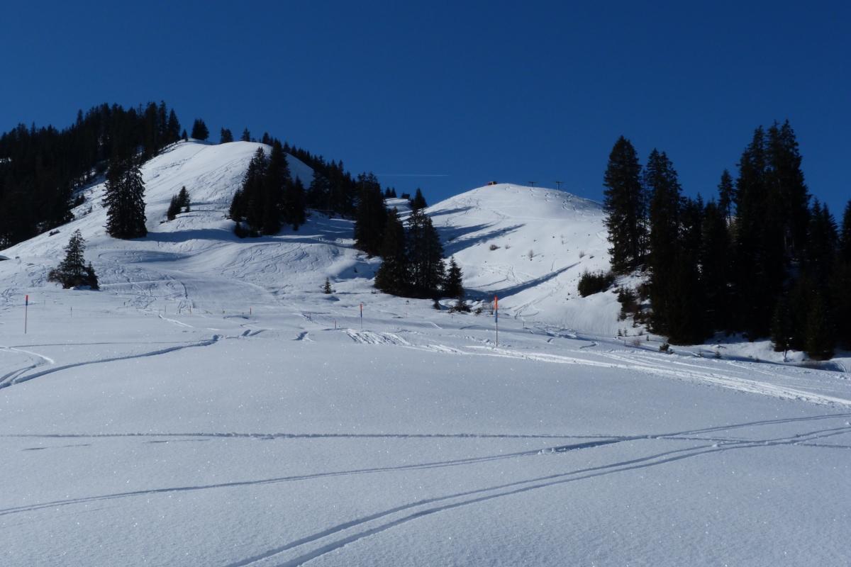 Rossberg im Winter