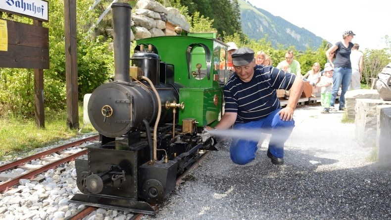 Kinderprogramm: Erlebnis Dampflokomotive Lenk