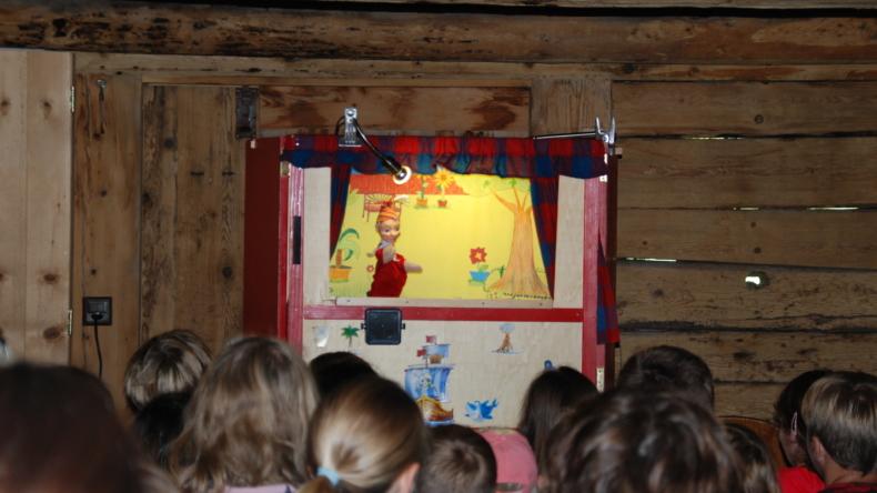 Kinderprogramm: Kasperli-Theater Alphüttli Lenkerseeli Lenk