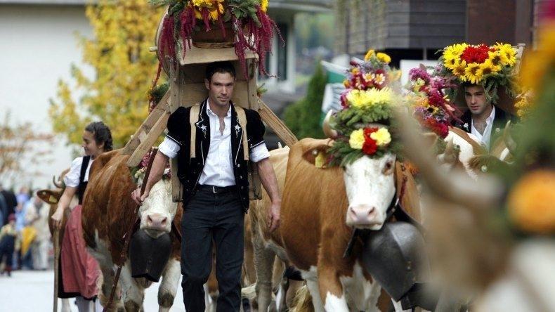 AlpKultur Älplerfest Lenk