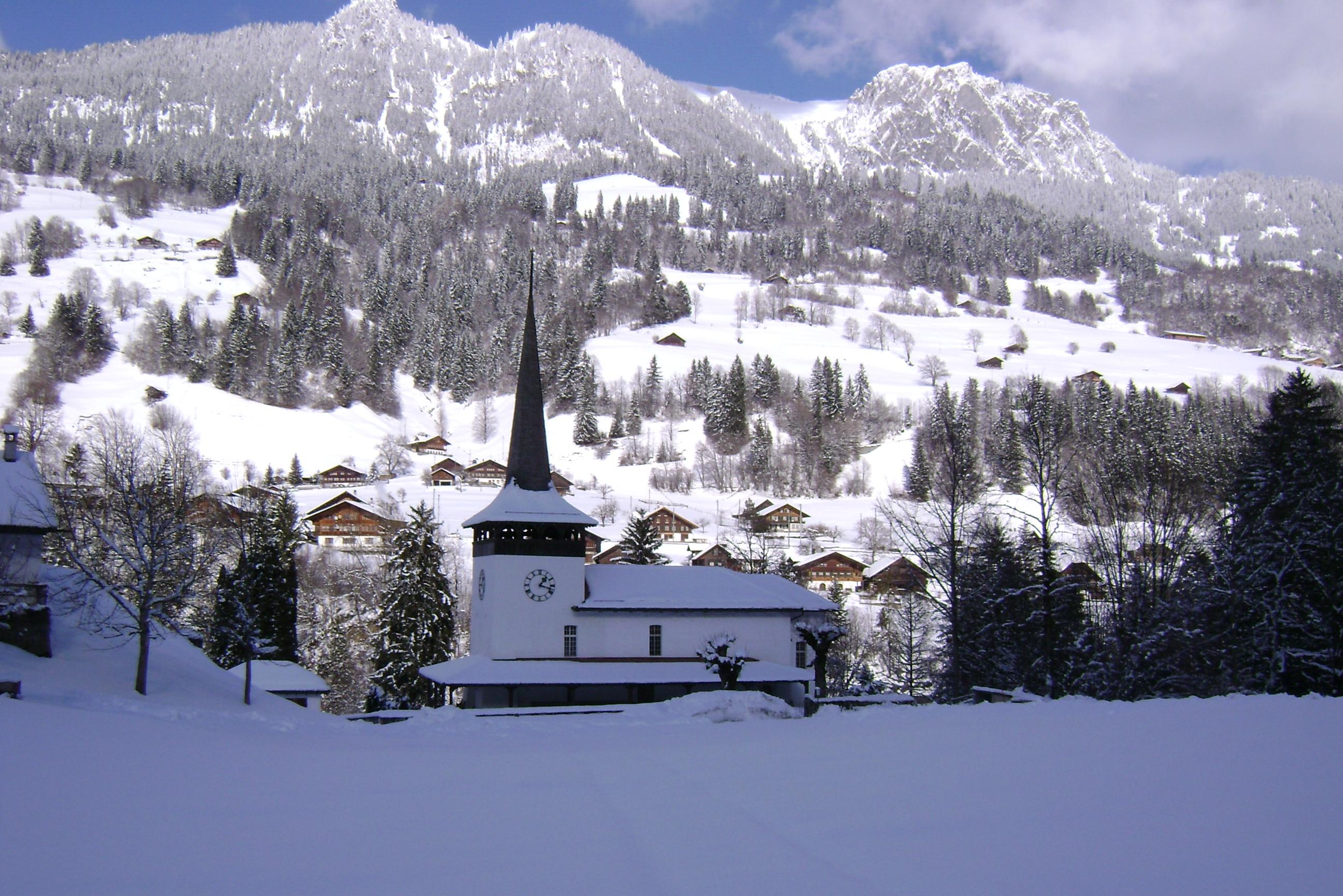 L'église de Därstetten