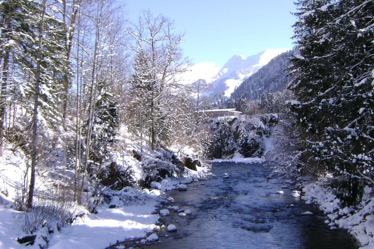 Därstetten im Winter