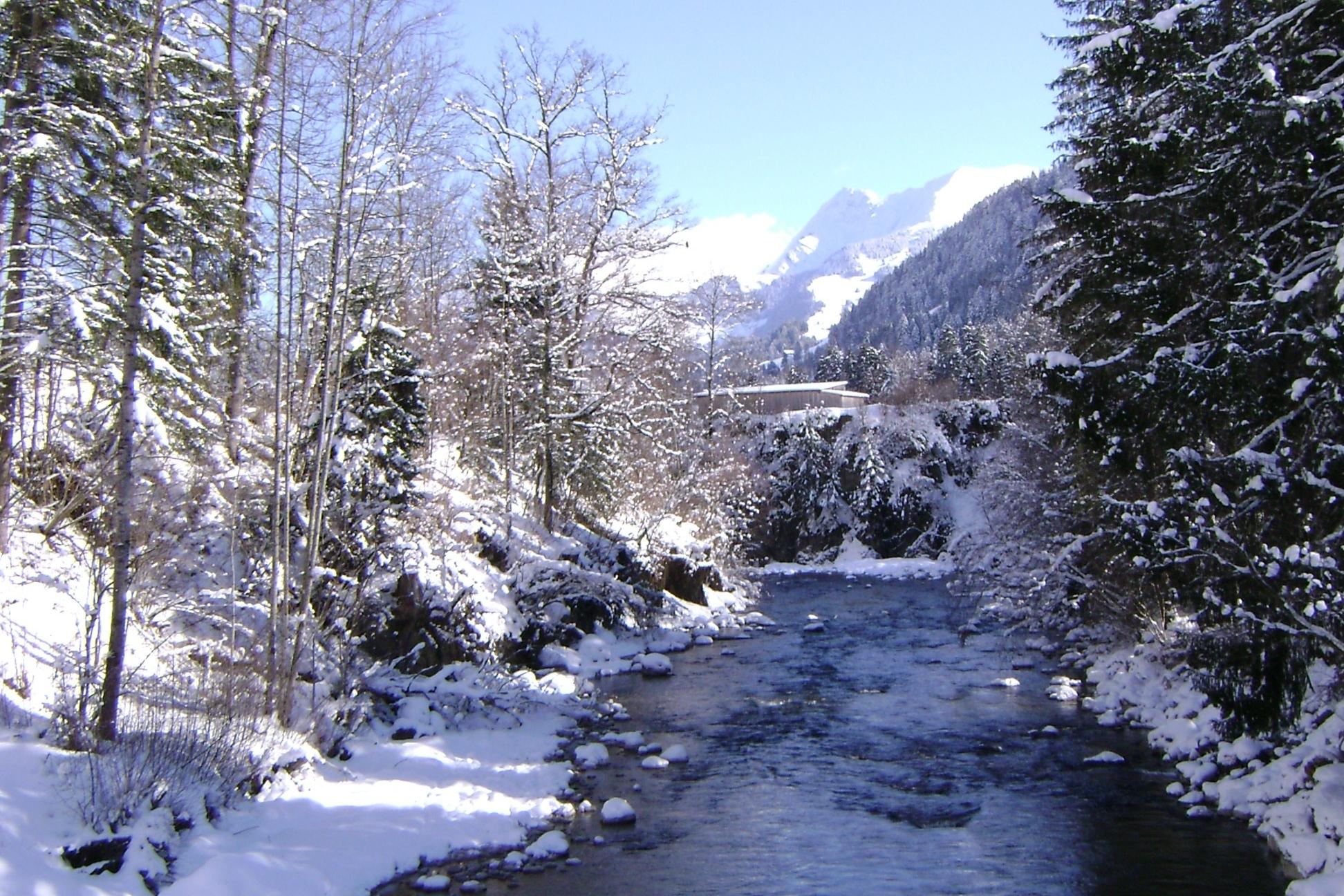 Därstetten in winter
