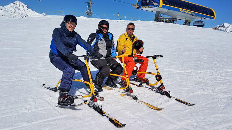 Snowbike Fun Lenk Metsch