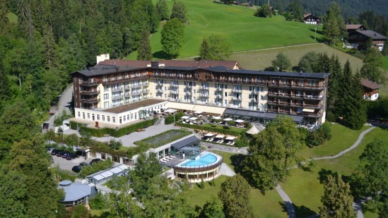 Aussenansicht Lenkerhof gourmet spa resort