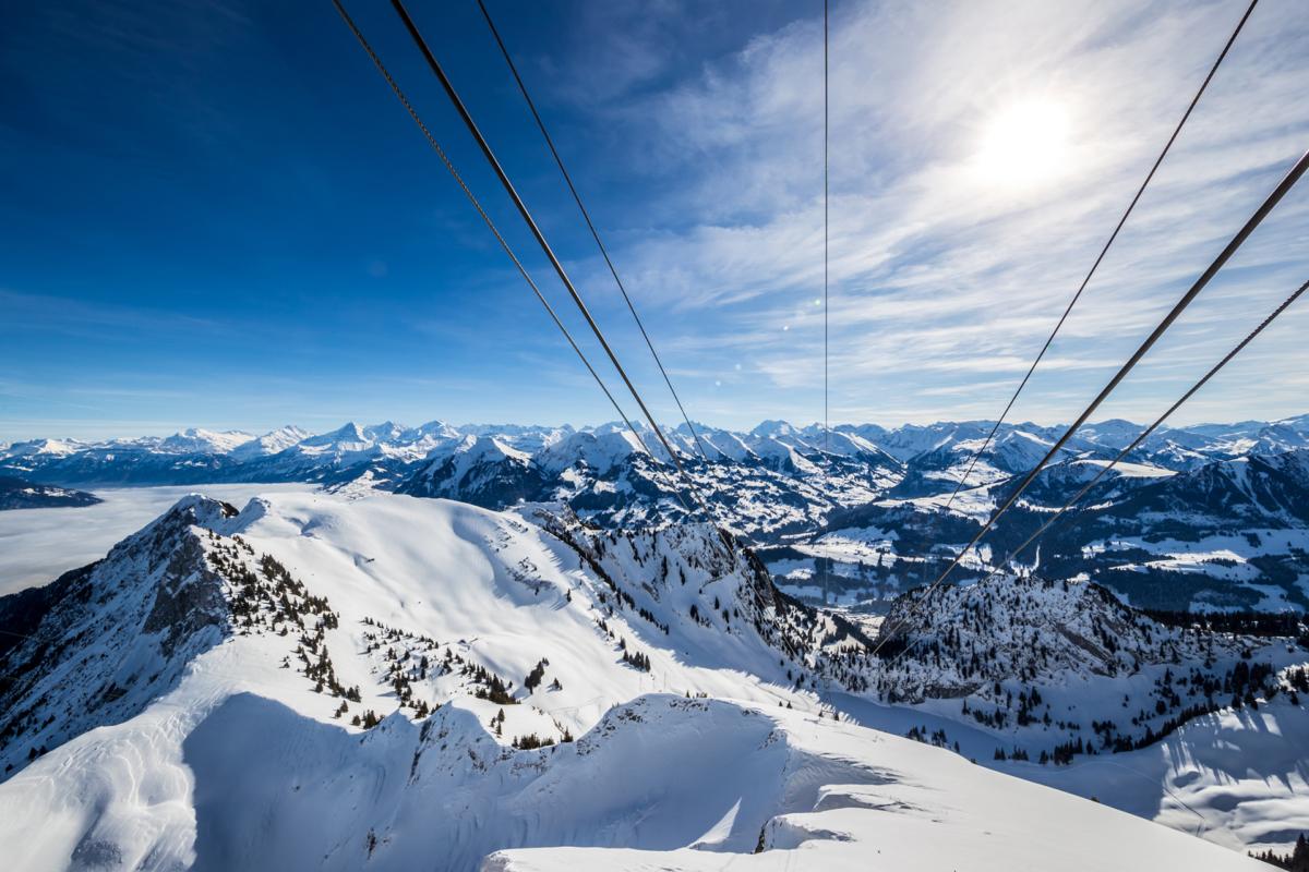 Winter auf dem Stockhorn