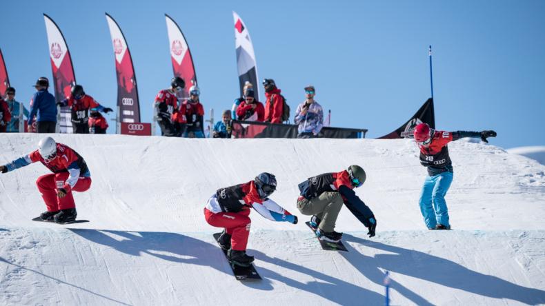 Audi Snowboard