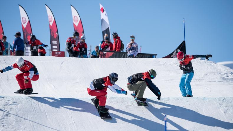 Audi Snowboard Series Patric Mani