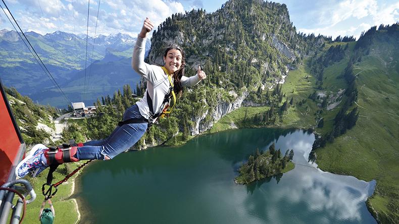 Bungee-Jumping Stockhorn