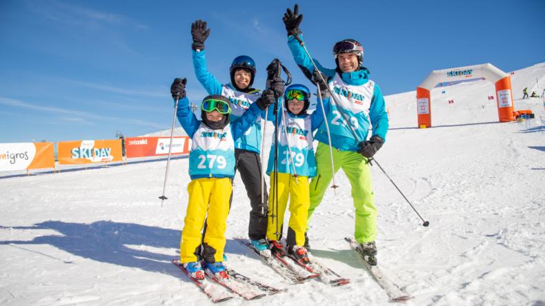 Famigros Ski Day Keyvisual 2019