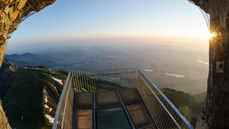 Stockhorn Panorama-Plattform