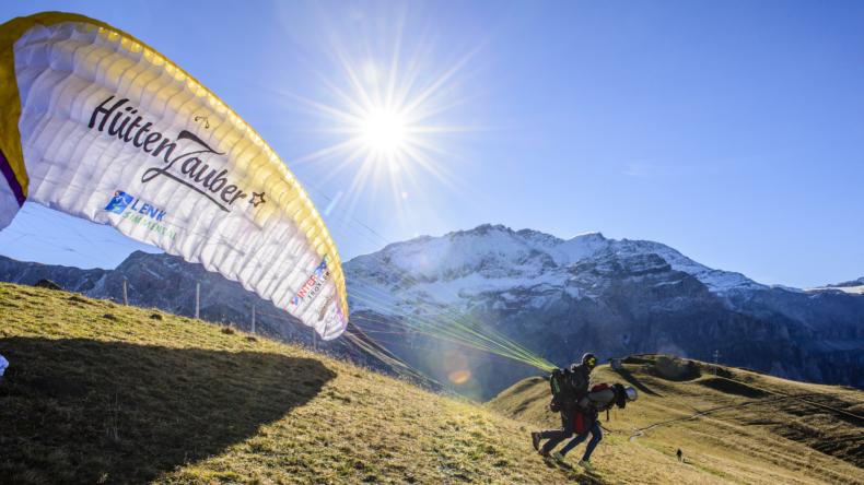 Lenk-Simmental Gleitschirmfliegen Patrick Aegerter