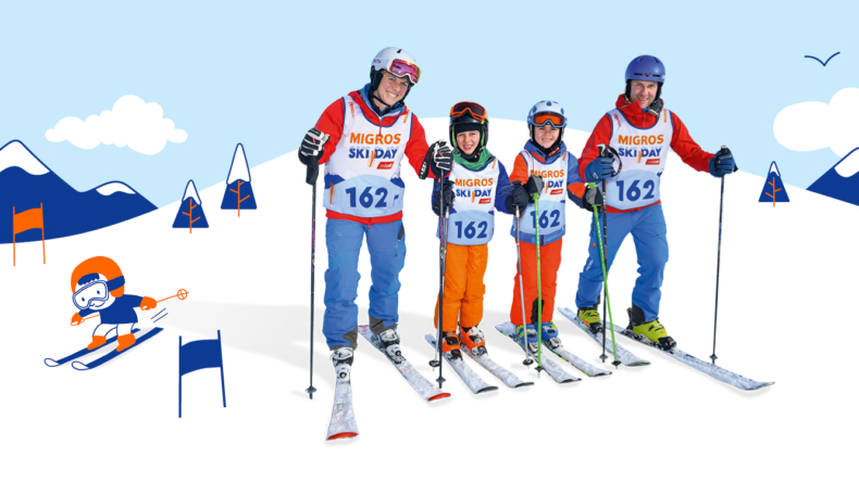Famigros Ski Day Keyvisual 2020